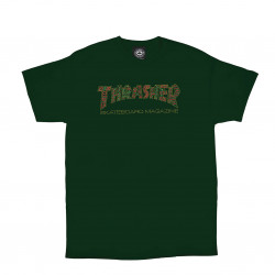 THRASHER, T-shirt davis ss, Forest green