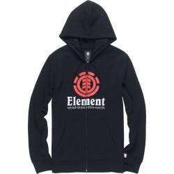 ELEMENT, Vertical zip hood, Flint black