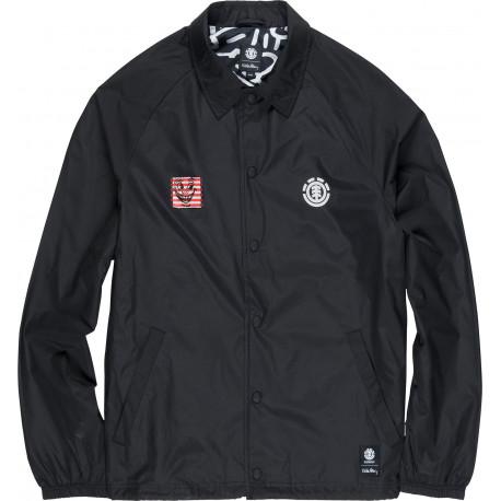 Kh coach jacket - Flint black