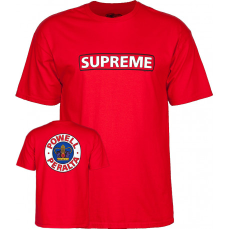 T-shirt supreme - Red