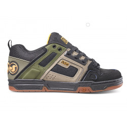 DVS, Comanche, Brindle burnt olive black leather