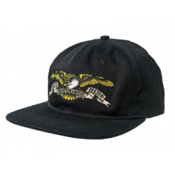 ANTI HERO, Antihero cap eagle emb 6 panel snapback, Black