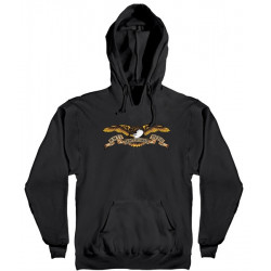 ANTI HERO, Antihero sweat hood eagle, Black