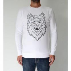 FRENCH KICK, Loup noir, White
