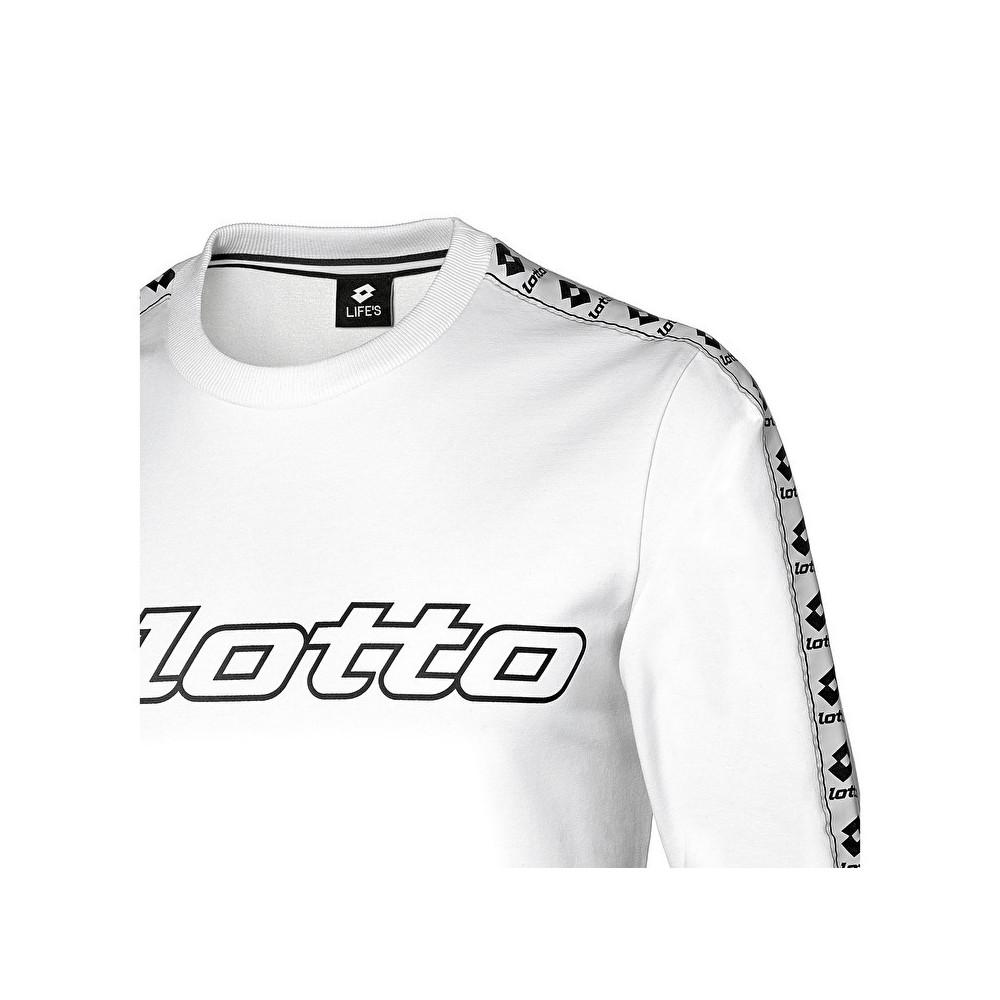 Lotto Stars FL HD JR Sweat-Shirt de Sport /à Manches Longues pour gar/çon