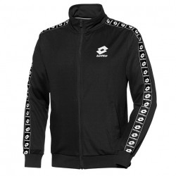 LOTTO, Athletica sweat fz pl, Blk