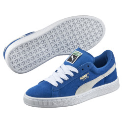 PUMA, Suede jr, Blue-wh