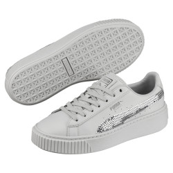 PUMA, G jr b platform bling, Gray