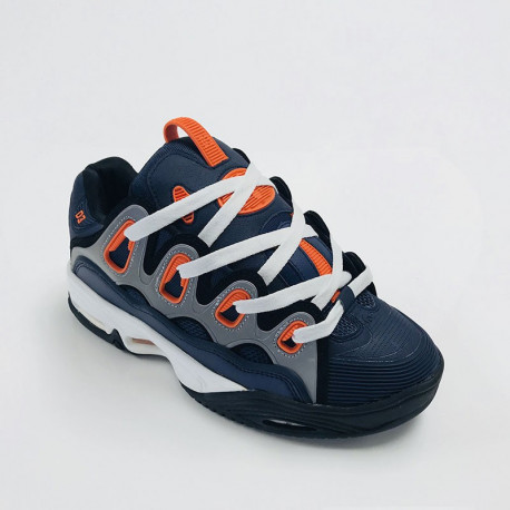 Mens d3 2001 - Navy/black/orange