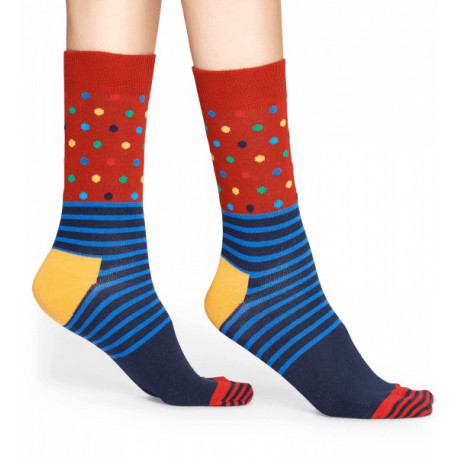 Stripes and dots sock - 6003
