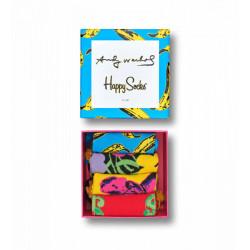HAPPY SOCKS, Andy warhol sock box set, 6000