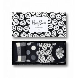 HAPPY SOCKS, Black and white gift box, 9003