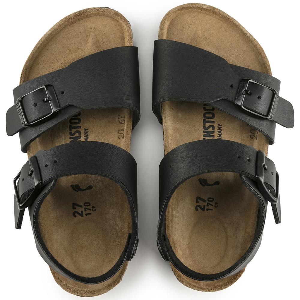 BIRKENSTOCK New York Bf Noir Sandales Enfant Suffern