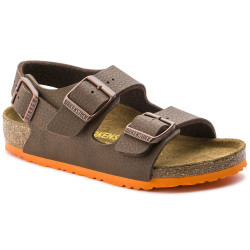 BIRKENSTOCK, Milano bf, Desert soil brown / ls orange