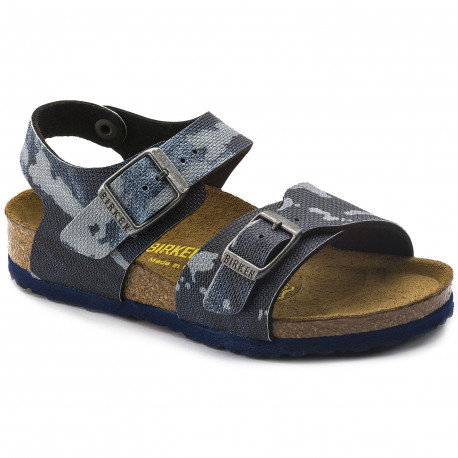 BIRKENSTOCK New York Bf City Camo Blue Sandales Suffern
