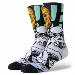 STANCE, Warped chewbacca, Black