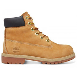 TIMBERLAND, 6in prem, Wheat nubuc yellow
