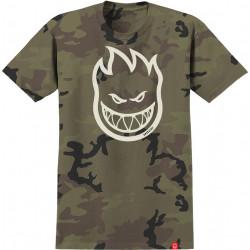 SPITFIRE, T-shirt bighead camo, Cream