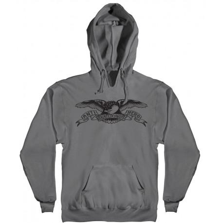 Sweat hood basic eagle - Charcoal black