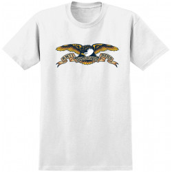 ANTI HERO, T-shirt eagle, White