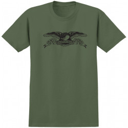 ANTI HERO, T-shirt eagle, Military green black