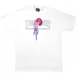 THRASHER, T-shirt atlantic drift, White
