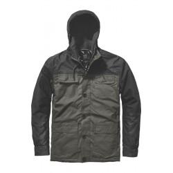 GLOBE, Goodstock blocked parka jacket, Dkolv