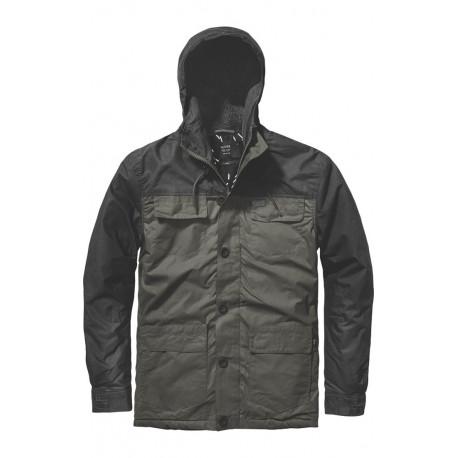 Goodstock blocked parka jacket - Dkolv