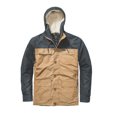 Goodstock blocked parka jacket - Tau