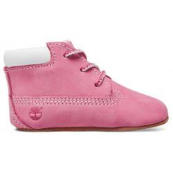 TIMBERLAND, Crib bt w/hat, Pink pink
