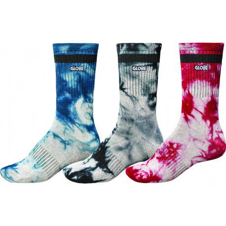 All tied up sock 3 pack - Asst.