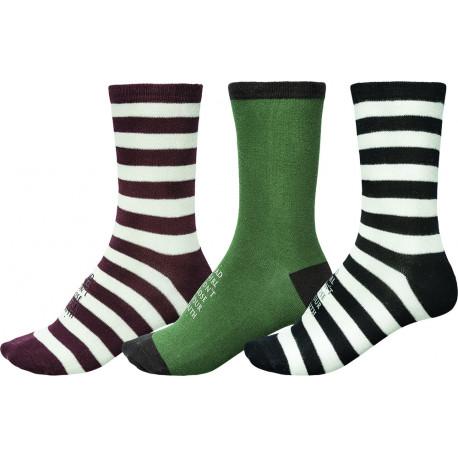 Dion deluxe socks 3pk - Asst.