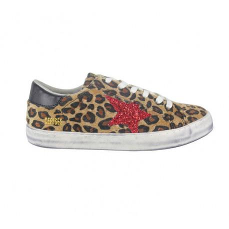 City - Leopard glitter