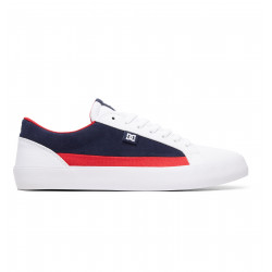 DC SHOES, Lynnfield, White/dc navy/true red