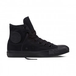 CONVERSE, Chuck taylor all star hi, Black monochrome