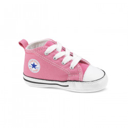 CONVERSE, Chuck taylor first star hi, Pink