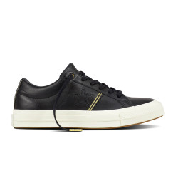 CONVERSE, One star ox, Black/gold/egret