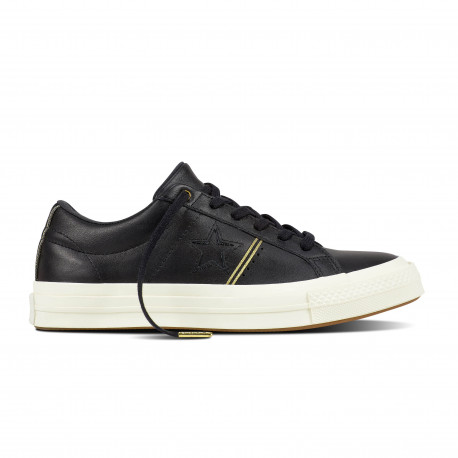 One star ox - Black/gold/egret