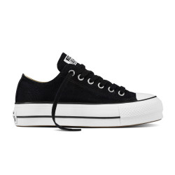 CONVERSE, Chuck taylor all star lift ox, Black/white/white