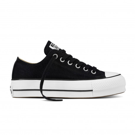 Chuck taylor all star lift ox - Black/white/white