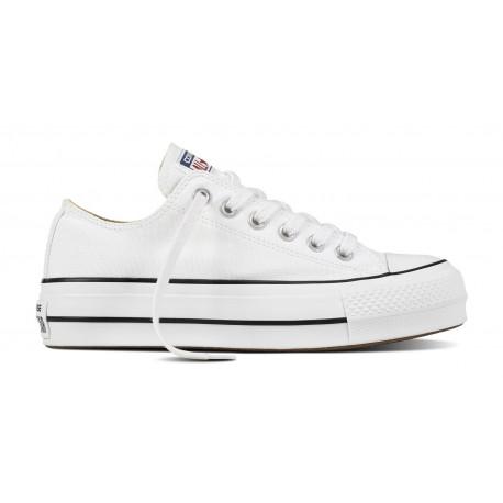Chuck taylor all star lift ox - White/black/white