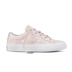 CONVERSE, One star ox, Barely rose/barely rose/white
