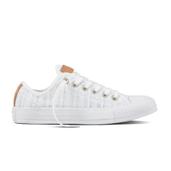 CONVERSE, Chuck taylor all star ox, White/tan/mouse