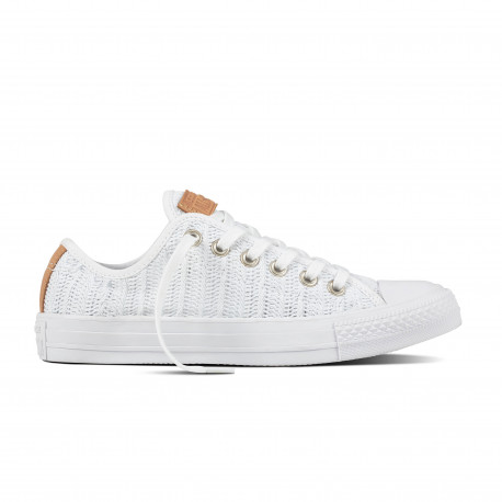 Chuck taylor all star ox - White/tan/mouse