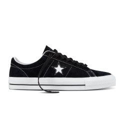 CONVERSE, One star pro ox, Black/white/white