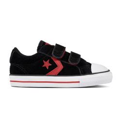 CONVERSE, Star player ev 2v ox, Black/gym red/white