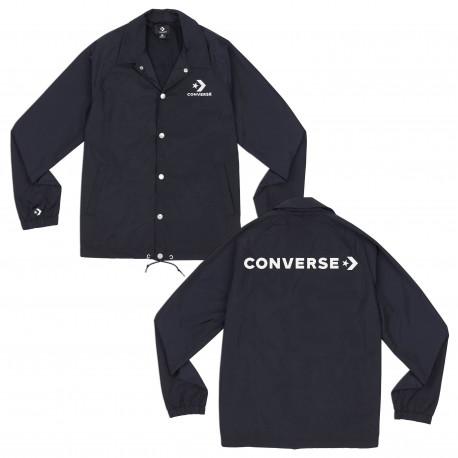 Graphic coaches jacket - Black