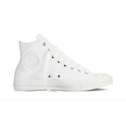CONVERSE, Chuck taylor all star leather hi, White monochrome