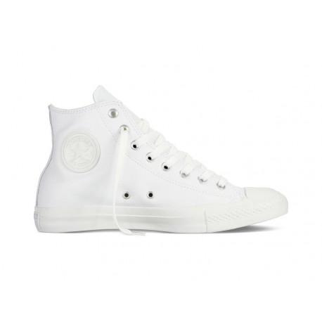 Chuck taylor all star leather hi - White monochrome