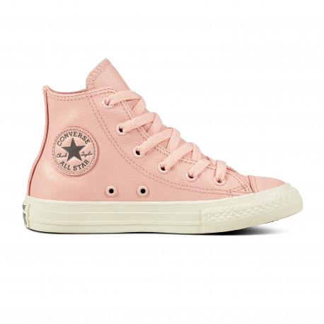 Chuck taylor all star hi - Storm pink/metallic gunmetal